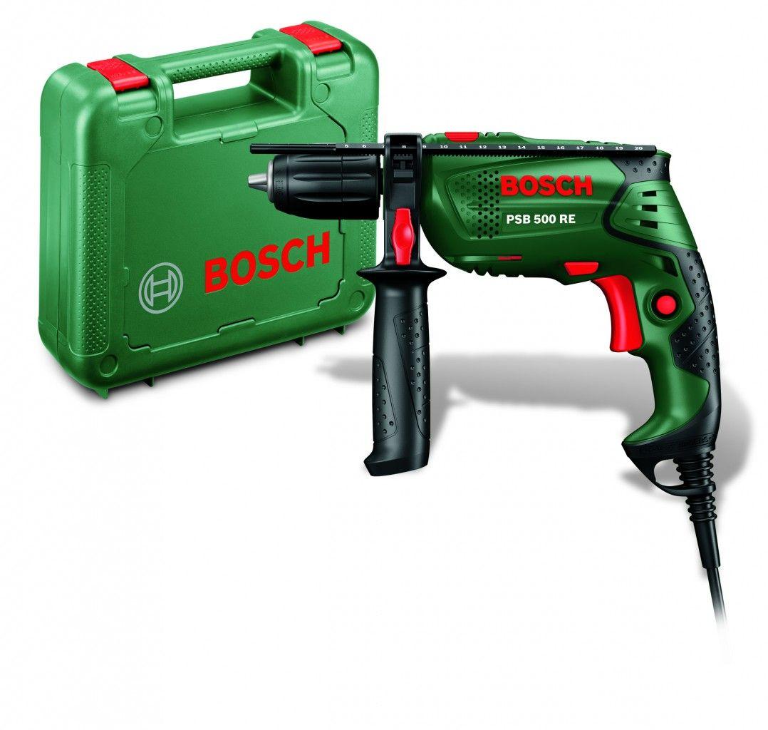 royal.tools - bosch psb 500 re impact drill - درل بوش الاخضر 500 واط